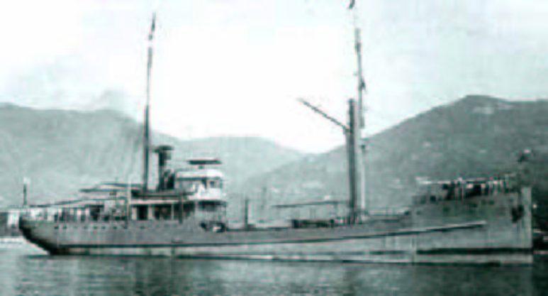 Nave Cisterna per Acqua Pagano - 1915