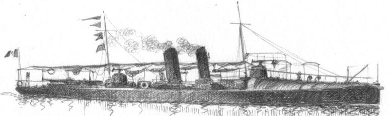 Torpediniere Pellicano - 1915