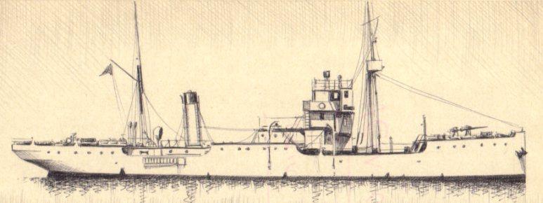 Nave cisterna carbone e nafta Prometeo - 1915