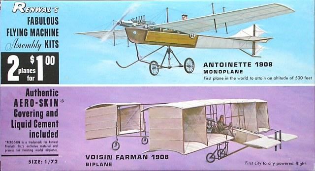 Renwals Voisin-Farman - 1908