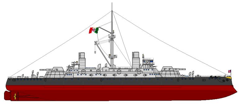 Nave da Battaglia Sardegna - 1915