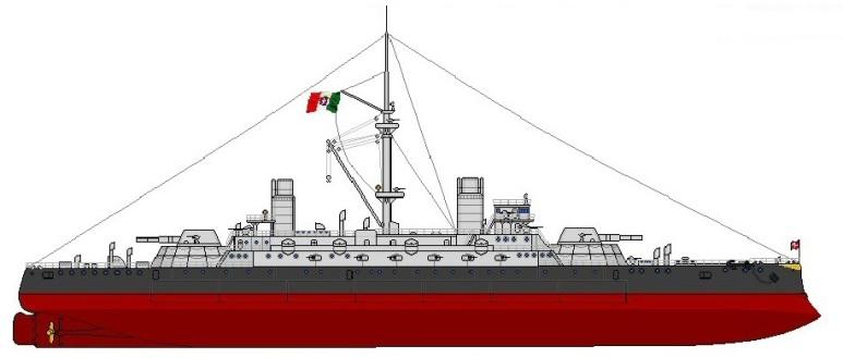 Nave da Battaglia Sicilia - 1915