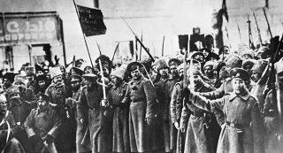 prima guerra mondiale Soldati Russi Ottobre 1917