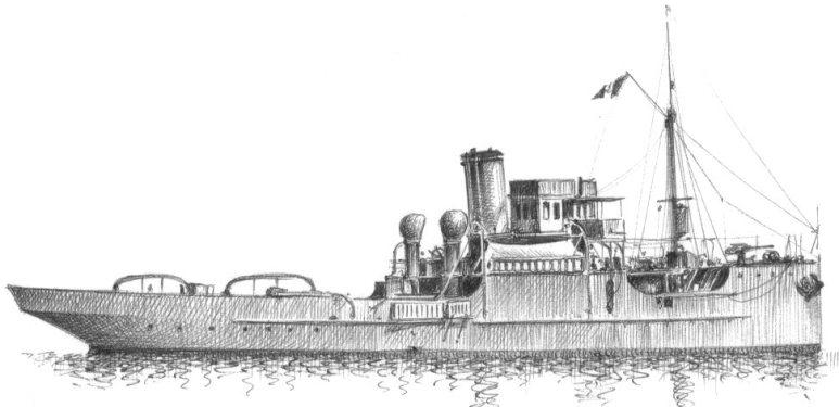 Rimorchiatore d'Alto Mare Titano - 1915