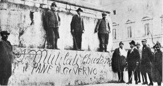 prima guerra mondiale Torino - Rivolta del Pane - 25 Agosto 1917