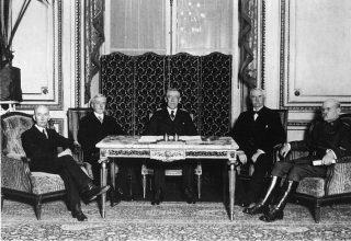 prima guerra mondiale Trattato di Versailles - 1919