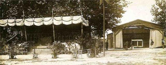 Tribune e Hangar al Campo dei Palloni - Ex area Expo 1906 - Milano