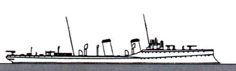 Nave Posamine Tripoli - 1915