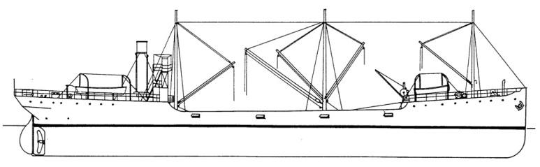 Nave Trasporto Verbano - 1915