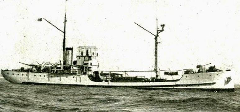 Nave Cisterna per Acqua Verde - 1915