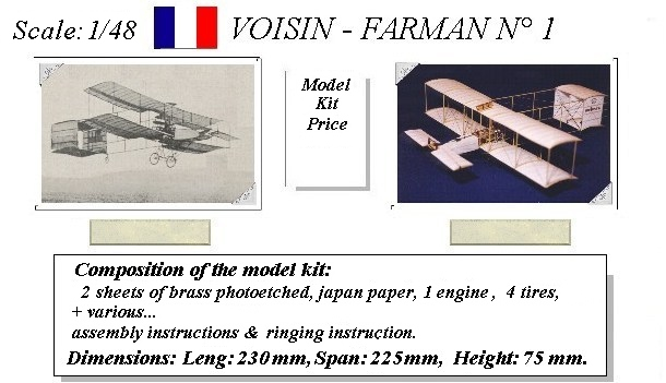 Voisin-Farman 1 - AJP Maquettes