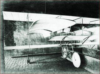 Corazza Aerocicloplano - 1904