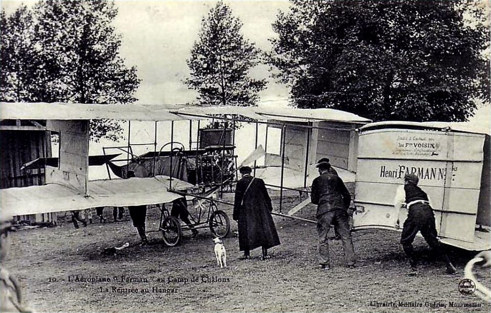 Farman 1bis - 1908