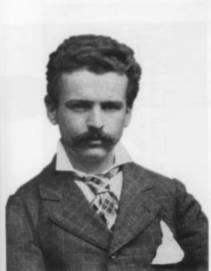 Ritratto di Enrico Forlanini giovane