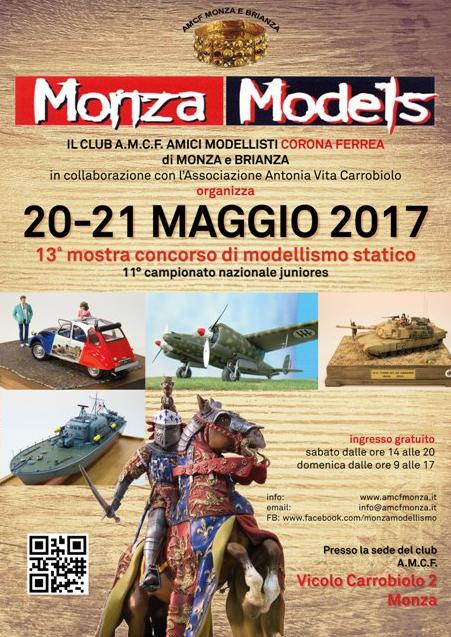 Locandina Monza Models 2017
