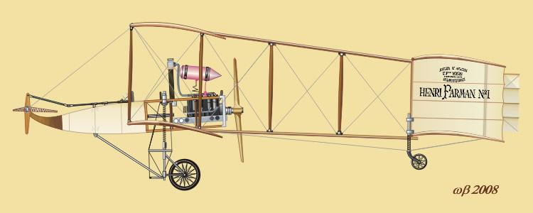Voisin-Farman 1bis - 1909