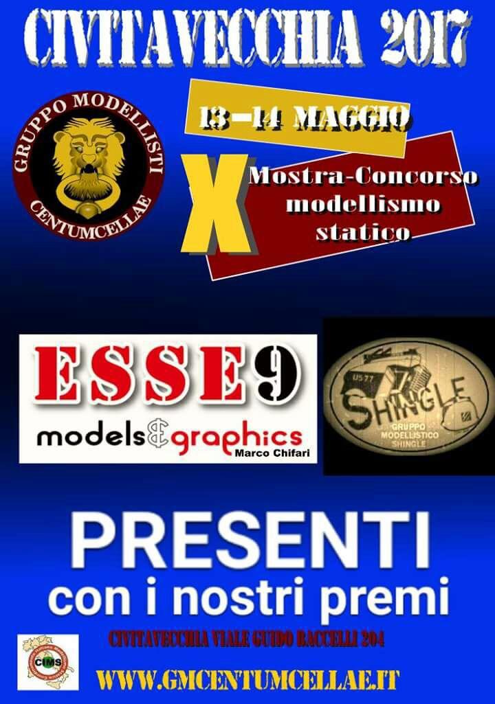 Locandina - Mostra-concorso Città di Civitavecchia - 10^ Edizione