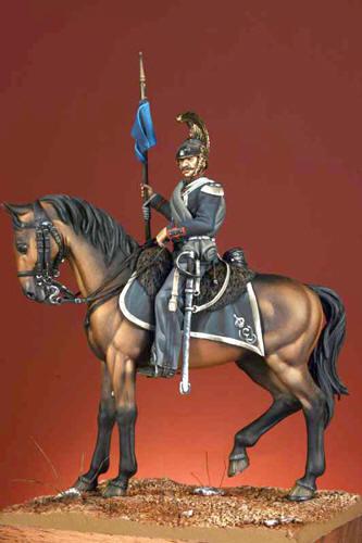 Vista laterale - Amis 17 - Soldato del Reggimento di Cavalleria Savoia – 1859