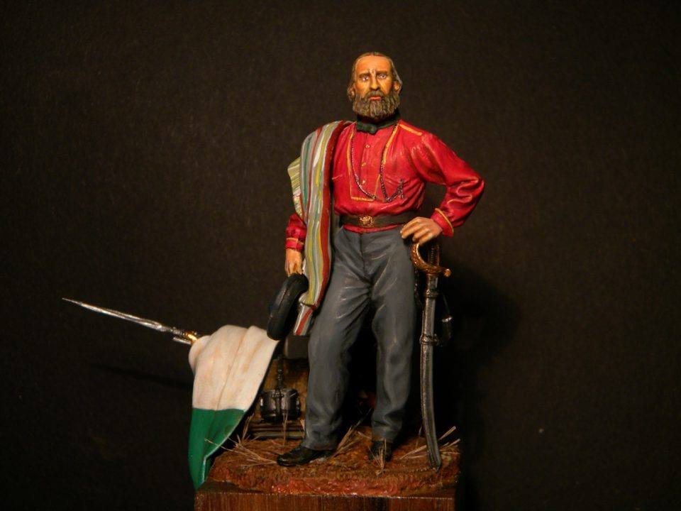 Giuseppe Garibaldi Regno d'Italia - 1860 - Masterclass - 54mm - (Fonte: http://alegi.blog.tiscali.it/)