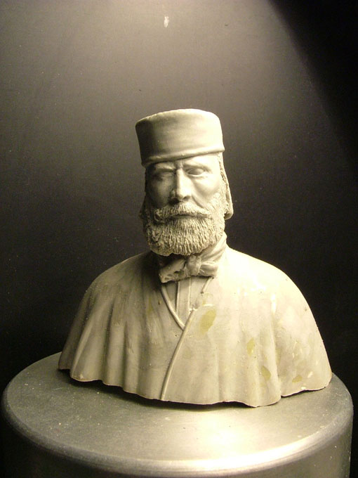 Giuseppe Garibaldi - Busto grezzo di Giorgio Pasut