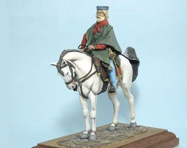 Giuseppe Garibaldi - Cavalleria Italiana - 90mm