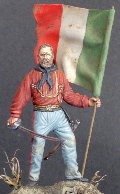 Giuseppe Garibaldi - Figurino autocostruito - Mauro Rota