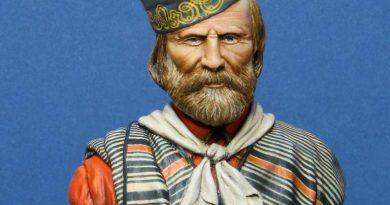 Busto di Giuseppe Garibaldi - Riccardo Cerilli