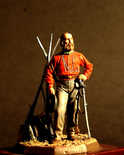 Giuseppe Garibaldi 1860 - Masterclass - 54mm - Pittura di Vincenzo Maradei