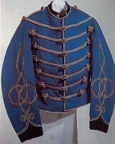 Uniforme da Ufficiale del Reggimento Guide - 1866 - Museo Nazionale di Castel S. Angelo