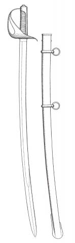 Sciabola da cavalleria Mod. 1834