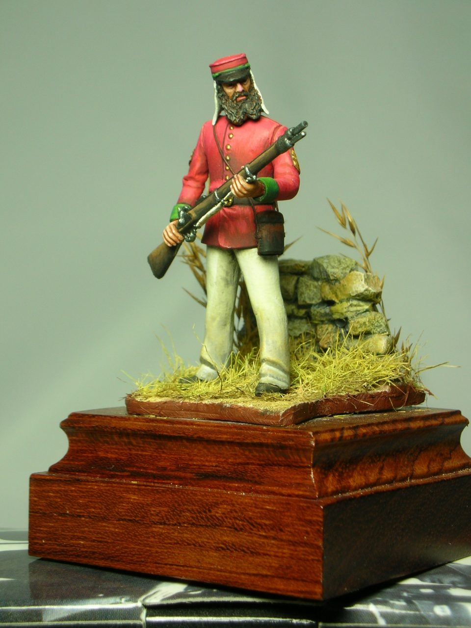 Sergente della British Legion - Sicilia - 1860 - MMA Miniatures - 54mm