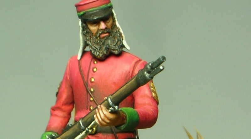 Sergente della British Legion - Sicilia - 1860 - MMA Miniature - 54mm