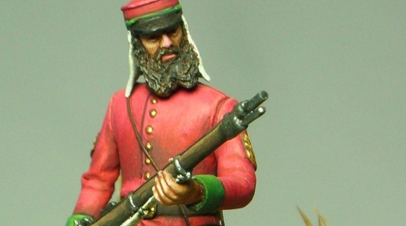 Sergente della British Legion - Sicilia - 1860 - MMA Miniature - 54mm
