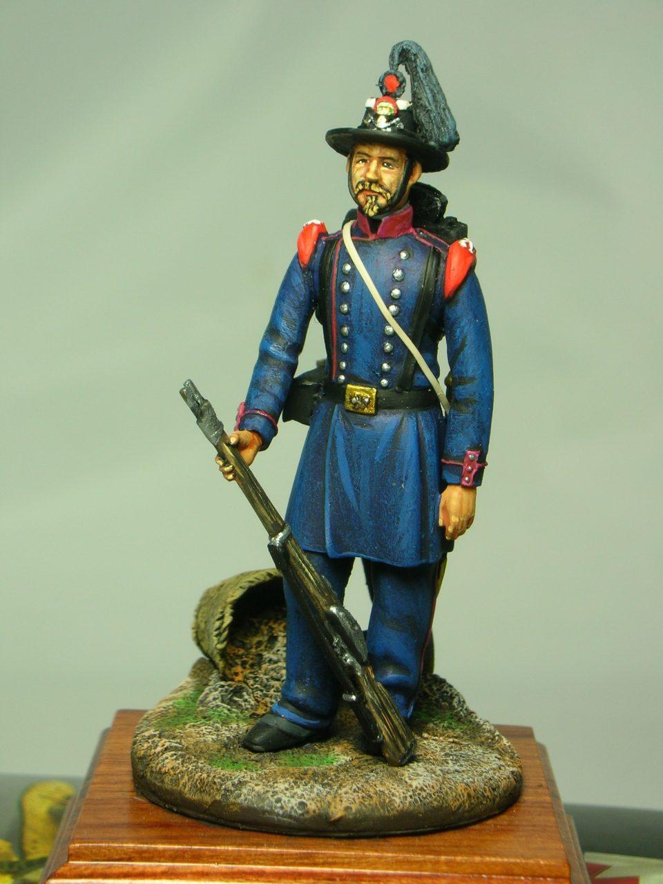 Zappatore del Corpo del Genio Reale - Gaeta - 1860 - MMA Miniature - 54mm