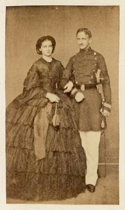 Il Re Francesco II e la Regina Maria Sofia a Gaeta