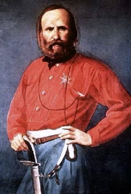 Ritratto di Giuseppe Garibaldi - 1861