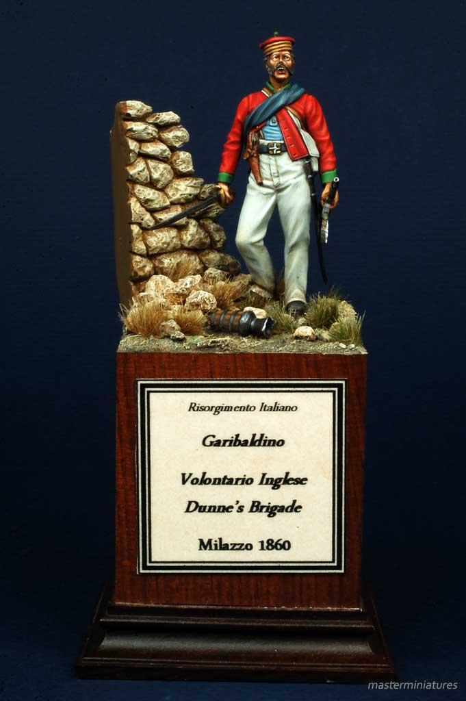 Garibaldino Volontario Inglese Dunne's Brigade - Milazzo - 1860 - Ugo Giberti