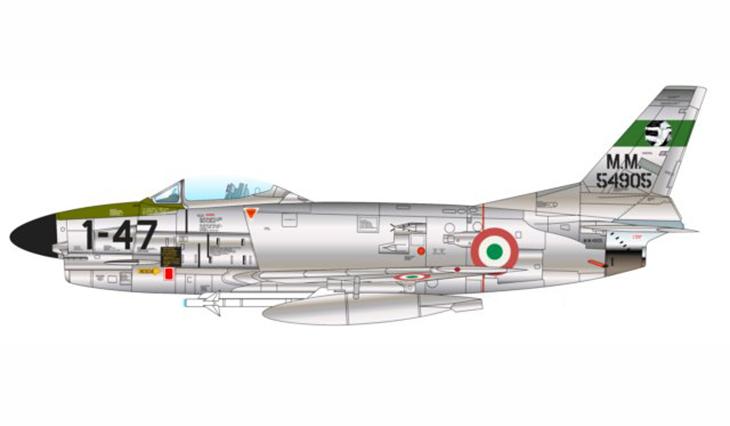 North-American F-86K