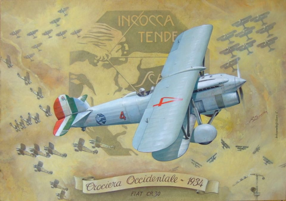 La Squadriglia Folle - Crociera Occidentale - Fiat C.R.30