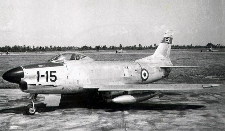 North American F-86K - 1° Stormo - 6° Gruppo - 81^ Squadriglia - Istrana - 1958