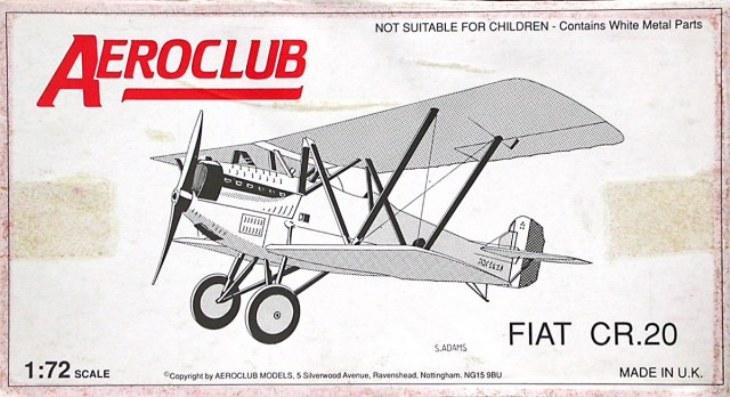 Fiat C.R.20 - Aeroclub - 1-72 - Cod. K031