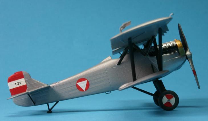 Fiat C.R.20 - Aeroclub - 1-72 - Österreichische Luftwaffe -1 Staffel - Klagenfurt-Annabichl - Austria 1938 - Realizzazione di Gerhard Schmalzl