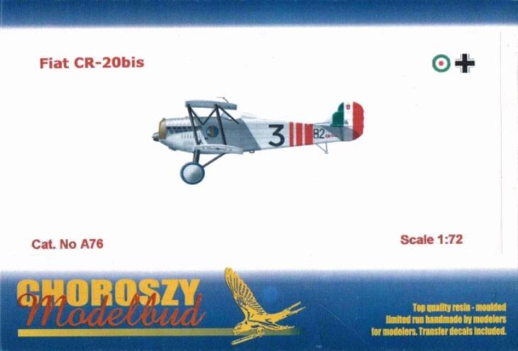 Fiat C.R.20 Bis - Choroszy Modelbud -1-72 - Cod.A76