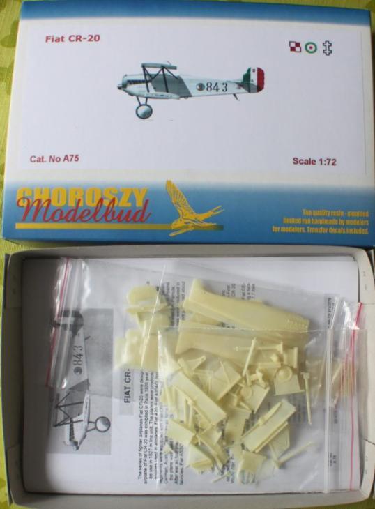 Fiat C.R.20 - Choroszy Modelbud - 1-72 - Cod. A75