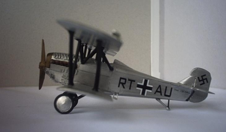 Fiat CR-20 Bis - Luftwaffe - 1938 - Choroszy Modelbud - 1/72 - Cod. A76