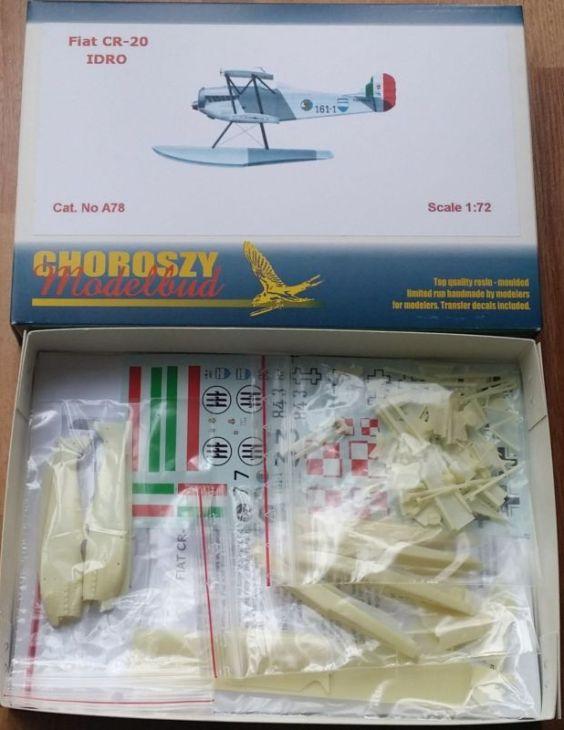 Fiat C.R.20 Idro - Choroszy Modelbud - 1-72 - Cod.A78