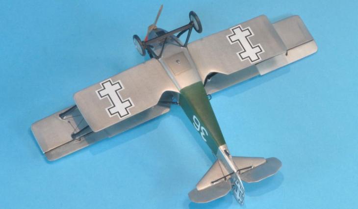 Fiat C.R.20 - Lituania - 1938 - Choroszy - 1-72 - Realizzazione di Philippe Martin