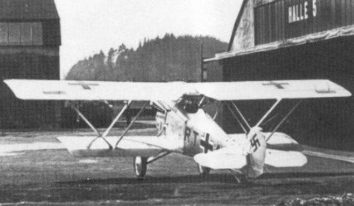 Fiat C.R.20 - Luftwaffe