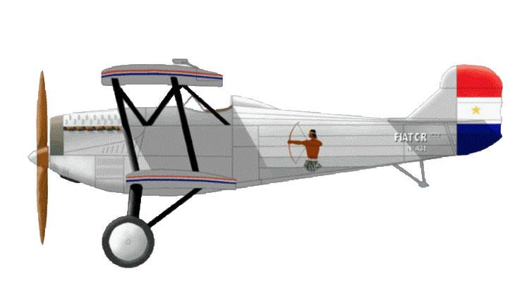 Fiat C.R.20 bis - Paraguay - Esquadron de Caza 'Los Indios' - 1933