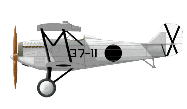 Fiat C.R.20 bis - Spagna - Aviación Nacional - 1937